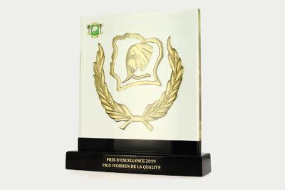 La NPG reçoit le prix d'excellence #Coted'Ivoire